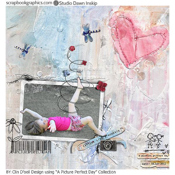 A picture Perfect Day - Clin d'oeil Design - scrap digital -