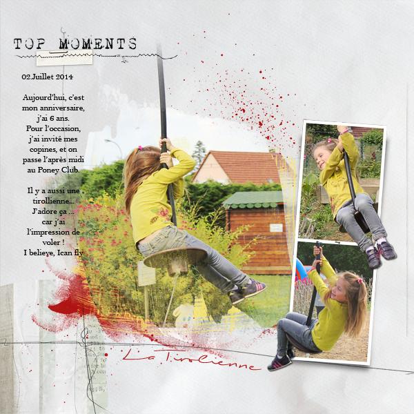 Tuto Hors cadre - HC - Out of Bound - OoB Photoshop et PSE- Clin d'oeil Design