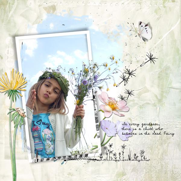 Dawn Inskip Grown in Greatbritain collection Inspiration champêtre bouquet de fleur et couronne dans les cheveux