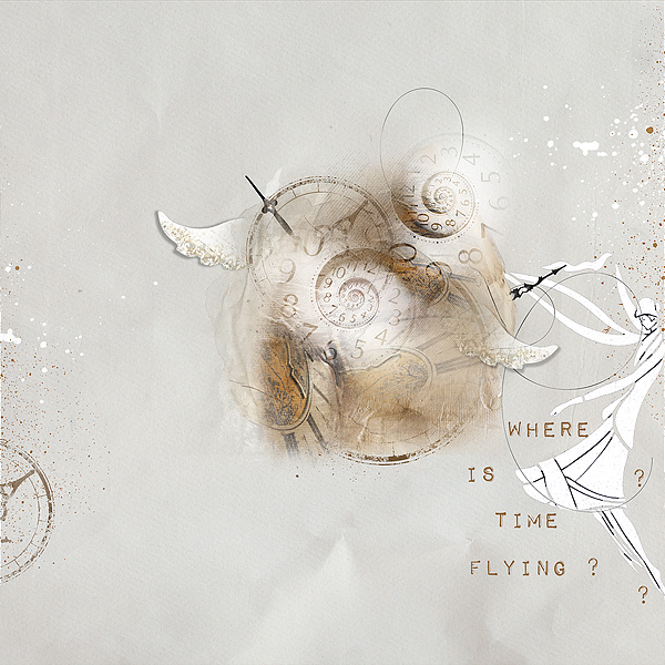 Where is Time Flying , clin d'oeil Design