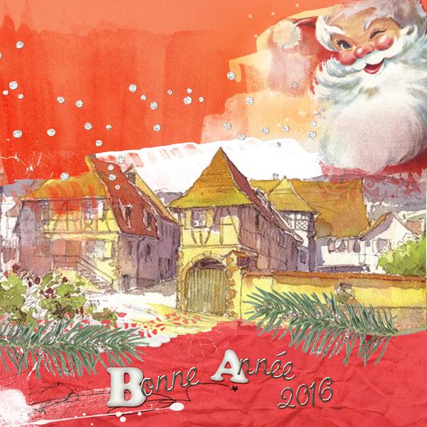 Inspiration Bonne année en Alsace