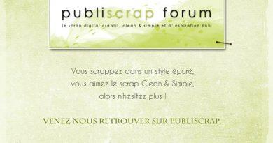 Le Forum Publiscrap ouvre ses portes