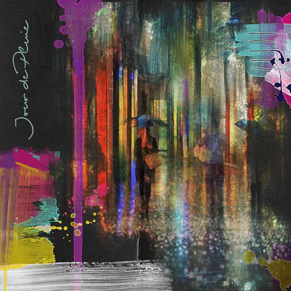 Un jour de pluie … impressioniste