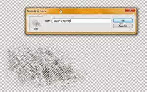 Tuto définir un élément en brush clin d'oeil design