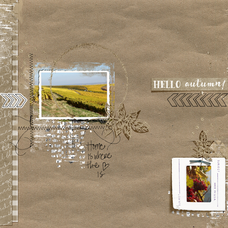 November memories Bellisae une page d'automne Clin d'oeil Design