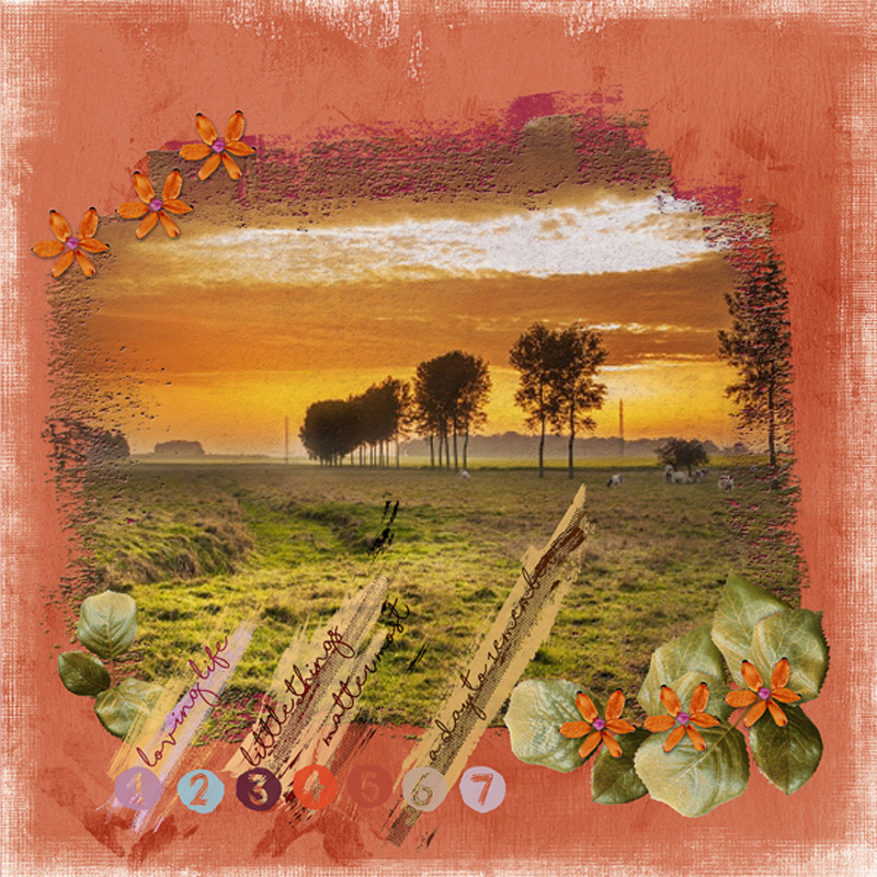 Monthly Mixed Media Janvier Dawn Inskip Clindoeil Design