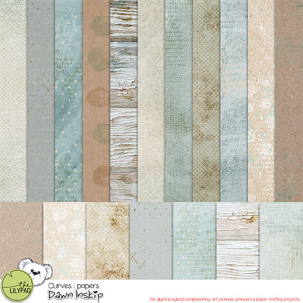 Unique is beautiful Curves Collection by Dawn Inskip clin d'oeil Design