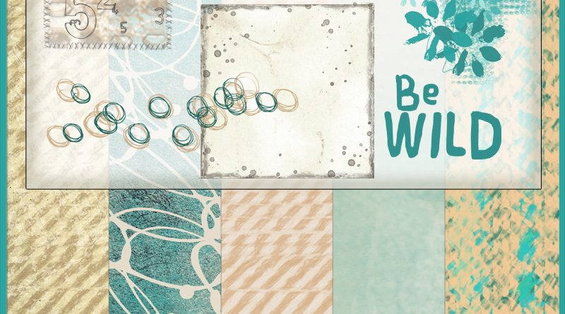 Kit Collab Publiscrap - Escale Sauvage Add-On Clin d'oeil Design