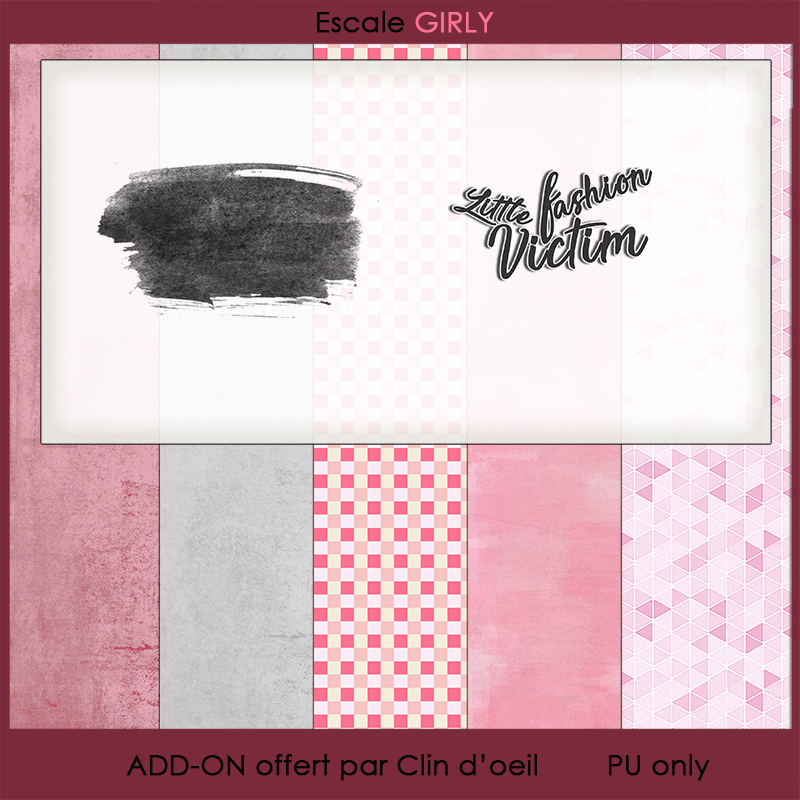 Kit Collab Escale Girly Freebie