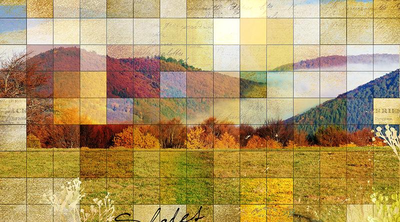 Une page de scrap mosaïque
