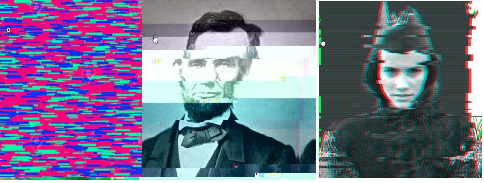 Tuto effet Glitch photoshop scrap digital