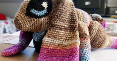 Jupiter the rabbit Le lapin doudou Crochet -
