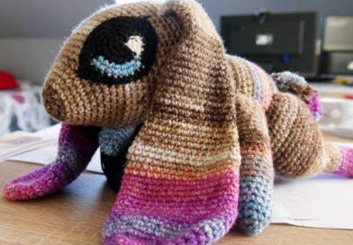Le lapin doudou Crochet
