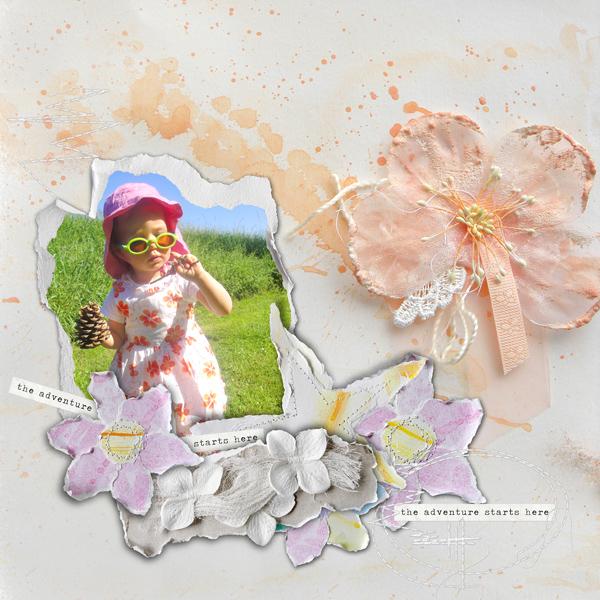 scrapbooking digital clindoeildesign clin d'oeil design Dawn Inskip a beautiful soul collection