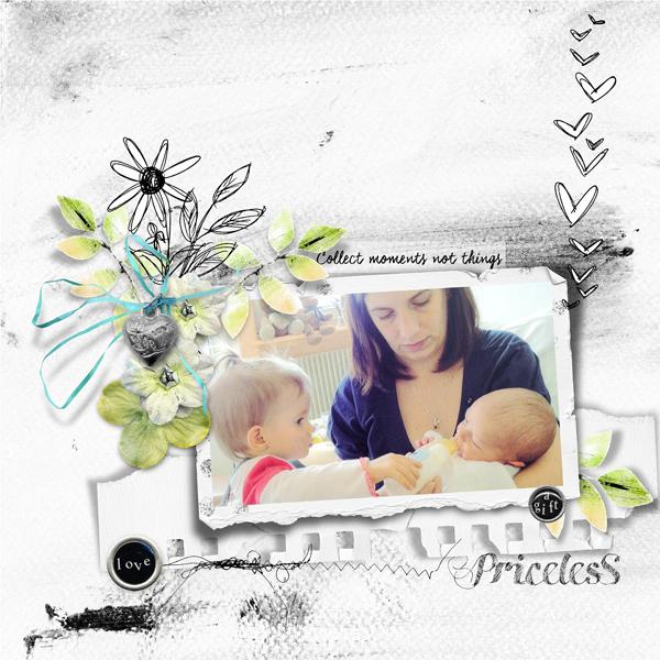 Priceless : Un kit de Dawn Inskip pour srapper tous les moments précieux de la vie - Page by Clin d'oeil Design