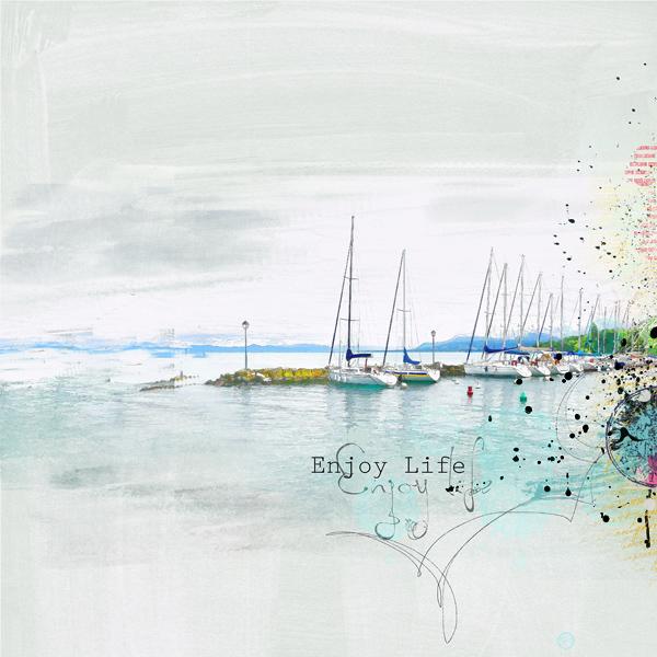 Challenge Whitespace @NBK Design clindoeildesign clin d'oeil design scrap digital