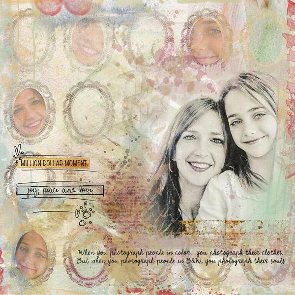 Million Dollar Moment - Clin d'oeil Design - scrap digital -