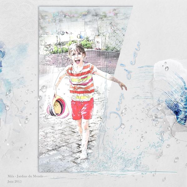Clin d'oeil Design - SCRAP DIGITAL ARTSY Artplay palette splash