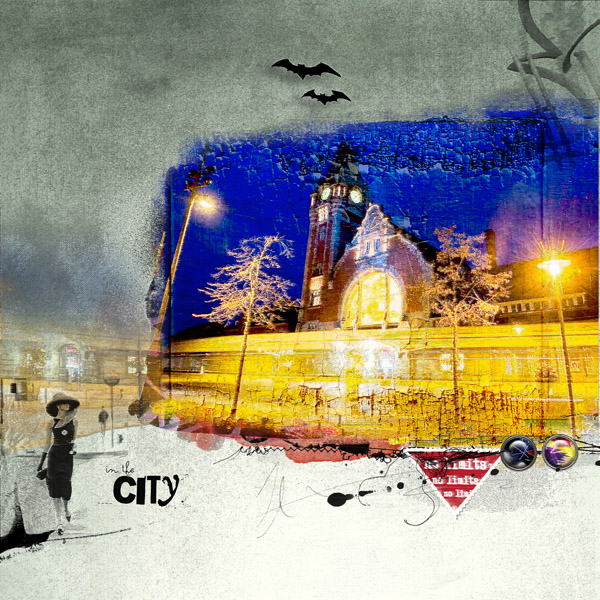 Night in the city' Clin doeil Design