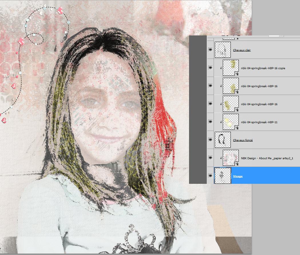Tutorial ARTSY layout par clin d'oeil Design