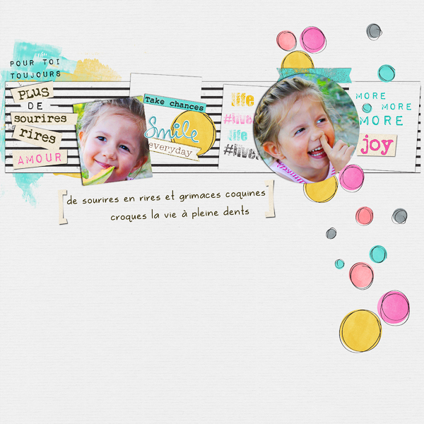 Scraparabe Juin pour PUBLISCRAP by clind'oeilDesign