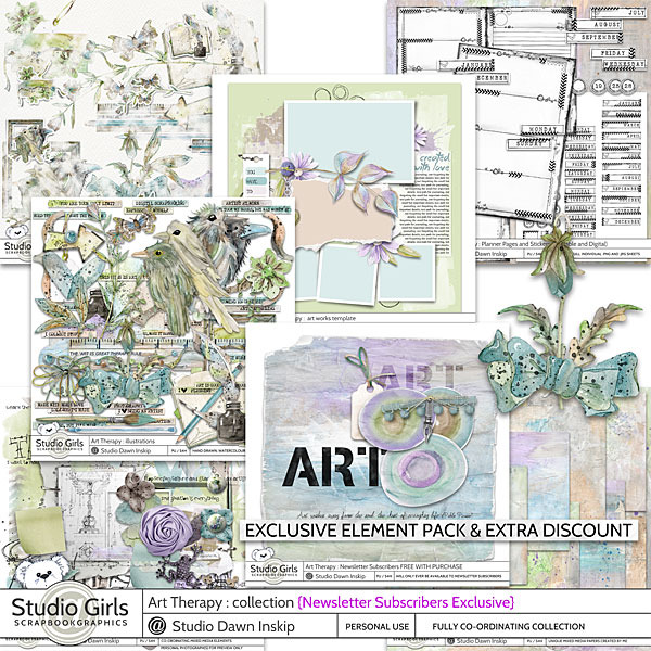 clin d'oeil Design - Dawn Inskip Sutdio - Art therapie Collection