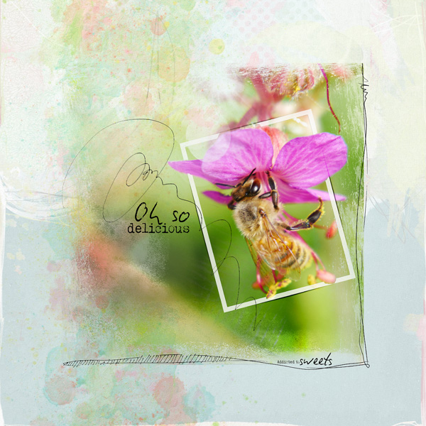 scrapbooking digital clin d'oeil design NBK Design Candy Crush Collection