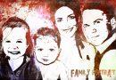 Grunge family portrait - Clin d'oeil Design