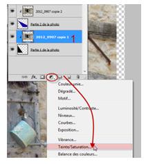 tuto zones de couleurs dans une photo clin d'oeil Design
