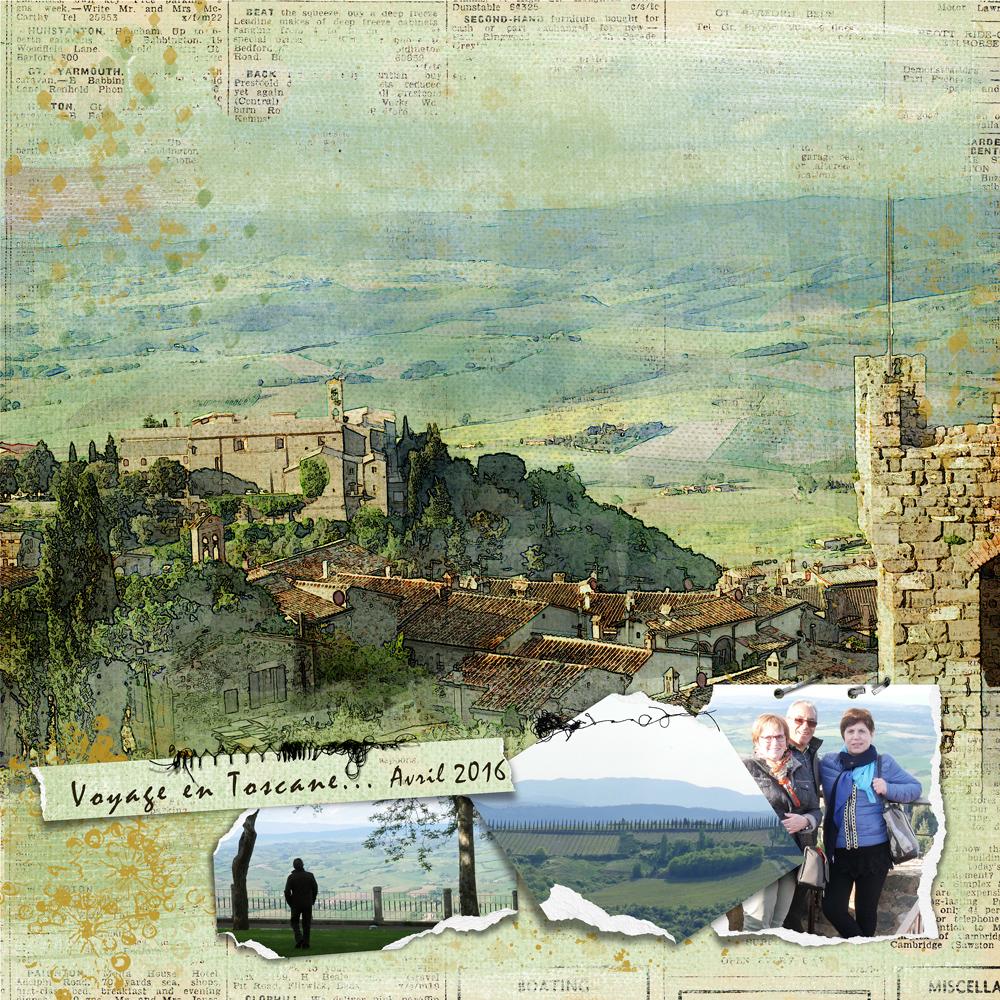 Voyage en Toscane