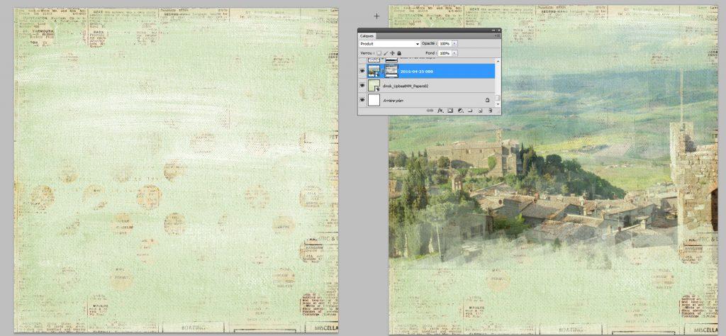 Tuto sketch et blending Photoshop PSE clin d'oeil Design