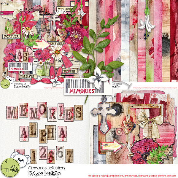 Memories Collection by Dawn Inskip