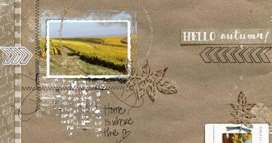 November memories Bellisae une page d'automne Clin d'oeil Design
