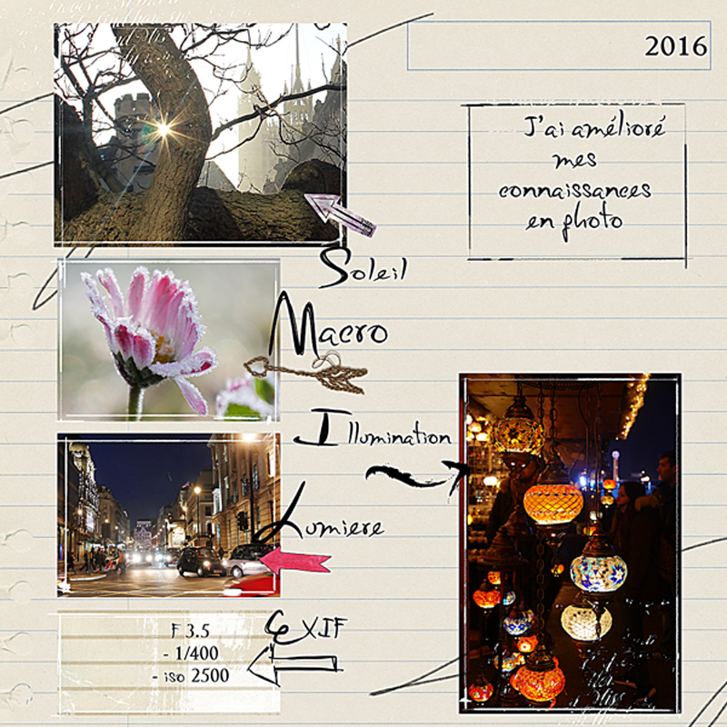 Advent Calender 2016 Oscraps day 20 by clin d'oeil Design