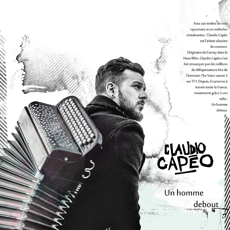 Claudio Capéo, un alsacien debout !