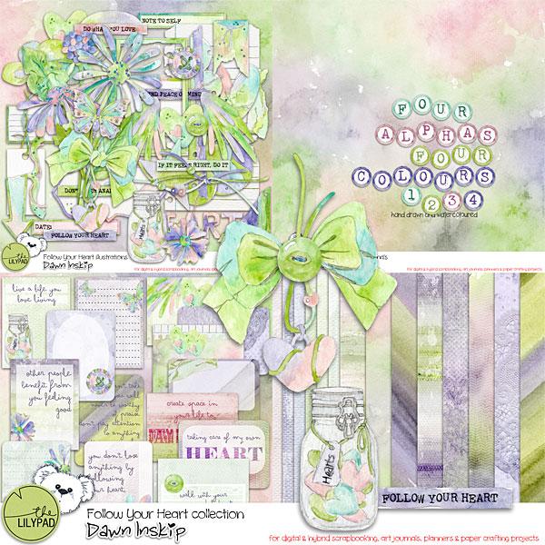 Follow your Heart - Dawn Inskip Clin d'oeil Design