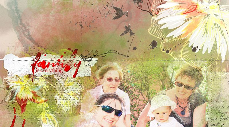 Family Story - 4 générations - NBK Designs