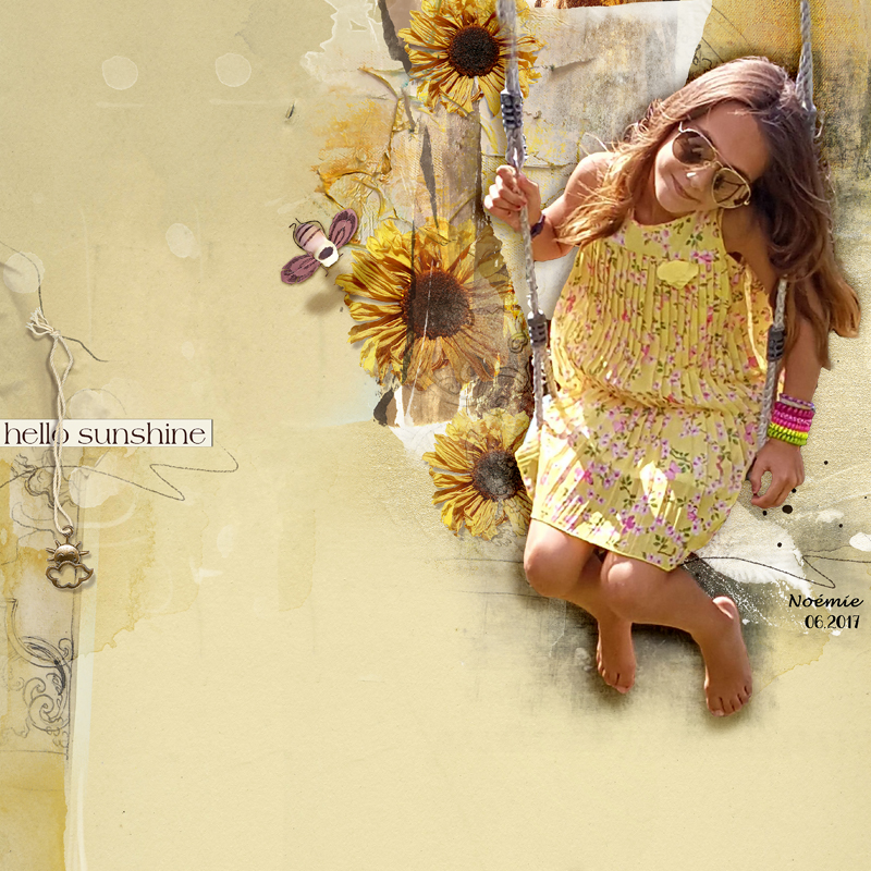 Hello Sunshine July Challenge #3 - Style