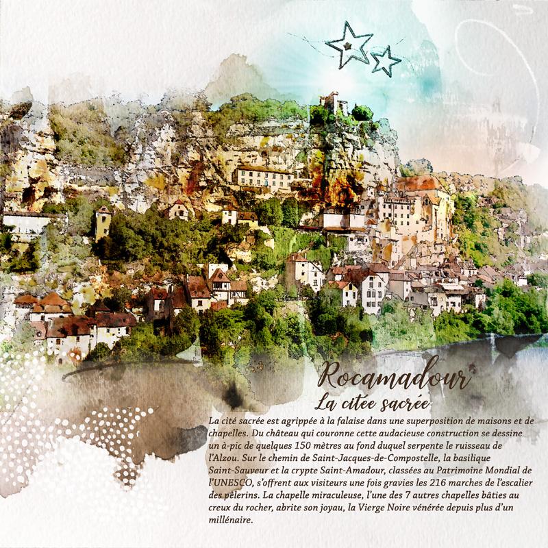 Rocamadour la citée sacrée