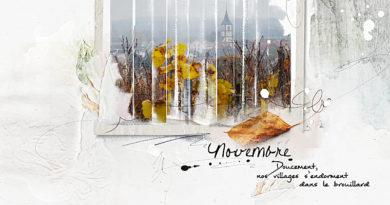 Novembre, nos villages s'endorment dans le brouillard