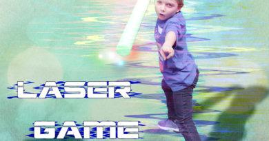 effet glitch laser game