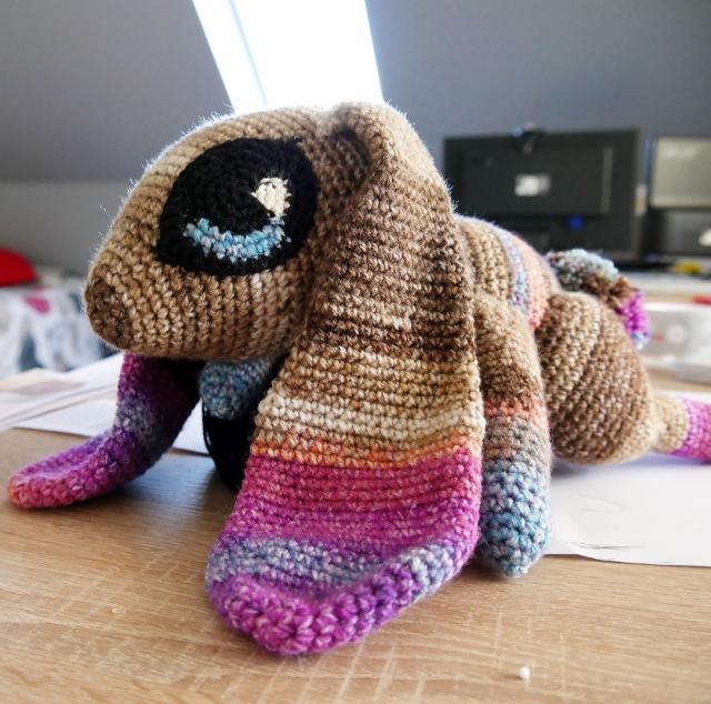 Jupiter the rabbit Le lapin doudou Crochet