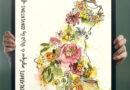 Une robe de fleurs