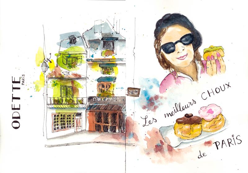 Odette les meilleurs choux de Paris